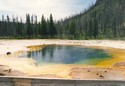 Photo - Wyoming - Le parc de Yellowstone - Black Sand Basin