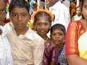 Photo - Chennai - Visages d'enfants - Temple de Shiva