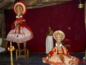 Photo - Fort Cochin- Kathakali théâtre
