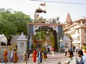 Photo - Mathura - Haut lieu de pélerinage -Temple dédié à Krishna