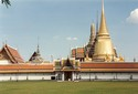 Photo -  Bangkok - Palais royal et temple Wat Phra Kaeo (1782)